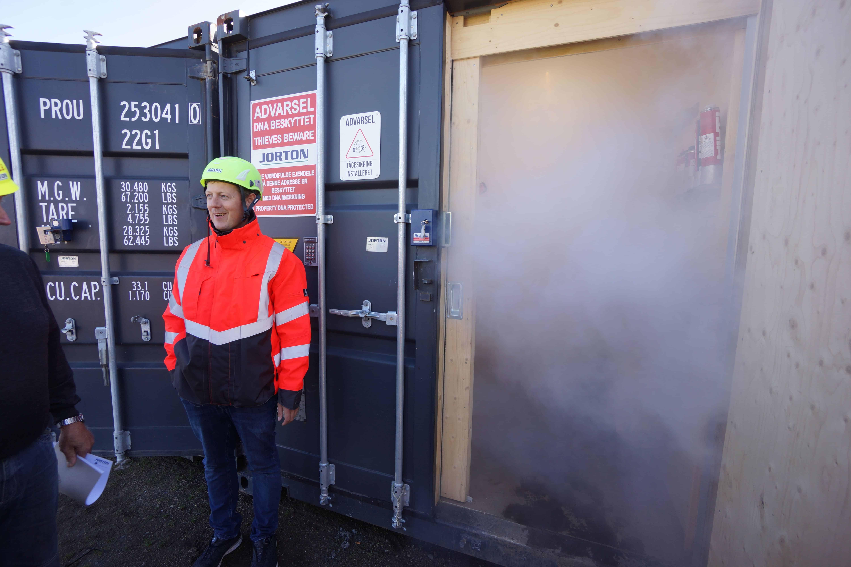Sikkerhedståge, gps, ryste-sensorer og sirener sikrer nu byggepladsens værdier